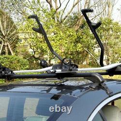 1 Pair Car Roof Rail Luggage Rack Baggage Carrier Cross Aluminum Set Universal