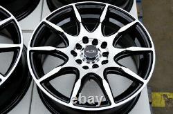 15 Wheels Honda Accord Civic Prelude Corolla Prius Scion tC xB 5 Lugs Black Rim