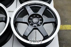 16 Black Wheels Rims Fit Toyota Camry Corolla Matrix Honda Accord Civic Sentra