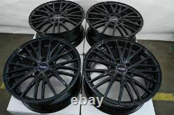18 Wheels Fit Lexus Es300 Gs300 Is250 Is300 Is350 Altima Maxima Black Rims (4)