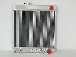 1964 1965 1966 Ford Mustang Falcon Comet Aluminum Radiator, Shroud, 16 Fan