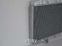 1967 1968 1969 1970 Mustang Cougar Big Block 24 Aluminum Radiator Shroud Fan