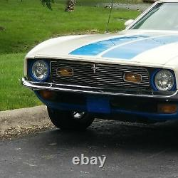 1971 1972 Ford MUSTANG mach 1 PC aluminum BILLET GRILLE brand new custom grille