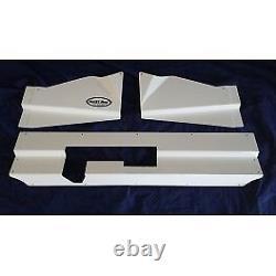 1987-93 Ford Mustang Satin Black Radiator Bumper Filler Cover Aluminum Fox Sale
