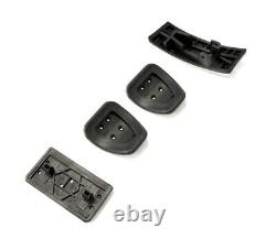 1994-2004 Mustang OEM Genuine Ford Aluminum Manual Clutch Brake Gas Dead Pedals