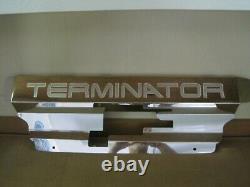 2003 2004 Mustang Cobra Terminator Radiator Cover Polished Aluminum Show Panel