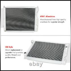 3-Row Aluminum Racing Engine Cooling Radiator For 2005-2014 Ford Mustang GT Base