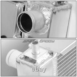 3-Row Performance Radiator Replacement+Cool Fan Shroud for 97-04 Ford Mustang MT
