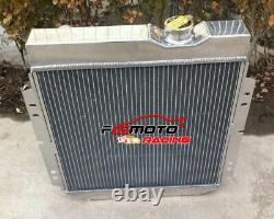3 row Aluminum Radiator for Ford Mustang Falcon V8 289 259 1964-1966 1965 AT/MT
