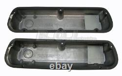302 351W Ford Racing Mustang Cobra Snake Aluminum Valve Covers M-6582-LE302SBK