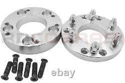 4 Pc 5x4.5 (5x114.3 MM) To 6x5.5 (6x139.7 MM) Conversion Wheel Spacers 2 Thick