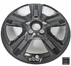 4 fits 2015-2020 Ford Mustang V6 Black 17 Wheel Skins Hub Caps Alloy Rim Covers