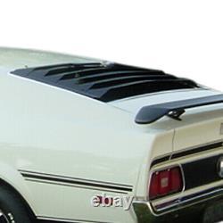 71-73 Ford Mustang WILLPAK ASTRA HAMMOND 1-piece Aluminum Rear Window Louver