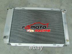 Alu Radiator + FANS For Ford Mustang GT GL SVT Cobra 5.0 Windsor V8 302 79-93 MT