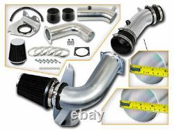 BCP BLACK 99-04 Ford Mustang 3.8L V6 Cold Air Intake Racing System + Filter