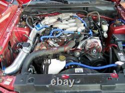 BCP BLUE 99-04 Mustang 3.8L V6 Cold Air Intake Induction Kit + Filter