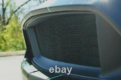 Black Grill Mesh Set For Badgeless 2015-17 Ford Mustang Gt Frame Not Included