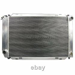 CXRacing 3 Rows Aluminum Radiator For 79-93 Ford Mustang GT 5.0 V8