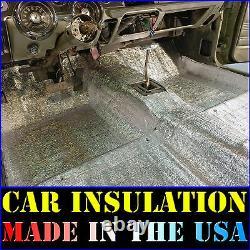 Car Insulation 100 Sqft Thermal Sound Deadener Block Automotive Heat & Sound