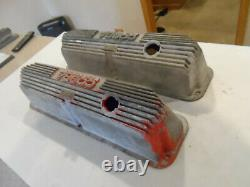 Cobra LEMANS Valve Covers Ford Mustang SHELBY 390 427 428 ALUMINUM