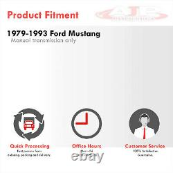 DUAL-CORE/ROW Full Aluminum Racing Radiator For 1979-1993 Ford Mustang V8/V6 M/T