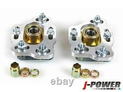 Fit 1990-1993 Ford Mustang Front Camber Caster Plates Alignment Kit Aluminum