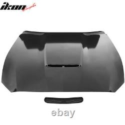 Fits 15-17 Ford Mustang 2Dr GT350 Style Aluminum Front Hood Unpainted