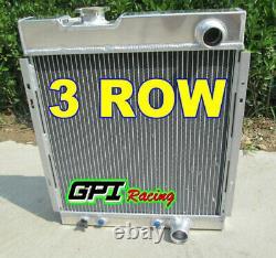 For 1964 1965 1966 Ford Mustang V8 289 302 Windsor Aluminum Radiator
