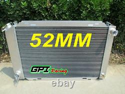 For 1979-1993 Ford Mustang Gt / LX 5.0l V8 302 Aluminum Racing Radiator