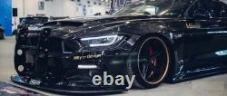 For 2015-2019 Ford Mustang Front Bumper Bull Bar Push Brush Bumper Grille Guard