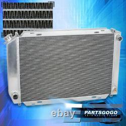 For 79-93 Ford Mustang Foxbody V8/V6 LX/GT/Cobra 2-RowithCore Aluminum Radiator