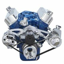 Ford 289 302 SBF Serpentine Conversion Kit- Power Steering, Electric Water Pump