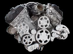 Ford Coyote 5.0L All Inclusive Serpentine System AC PS ALT Mustang Billet
