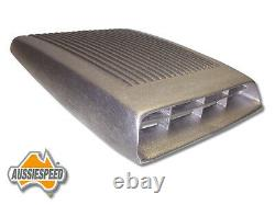 Ford Falcon Mustang GT Bolt on shaker repo alloy bonnet scoop Aluminum