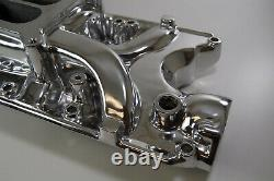 Ford Mustang 5.0L Intake Manifold 260 289 302 V8 Square Bore Polished Aluminum