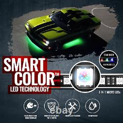 LED Underglow Bluetooth Enabled Lighting Kit OPT7 AURA PRO All-Color