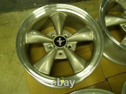 NOS OEM Ford 1999 2004 Mustang 35th Bullitt Wheels 17x8 2000 2001 2002 2003 GT