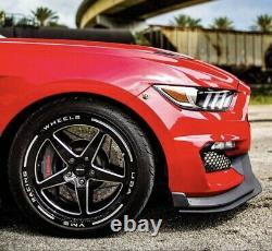 New 2x 18x5 (-12ET) 5x114.3 Street Drag Racing Wheels For Ford 05 19 Mustang