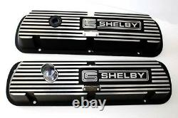 New! SHELBY GT350 Mustang Valve Covers Cobra Ford Aluminum Pair 289 302