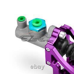 Purple Hydraulic Racing Hand E Brake Drift Rally Handbrake Aluminium Lever HB05