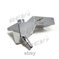 Rev9 Aluminum Coolant Expansion Overflow Tank Ford Mustang 96-04 V8 Only