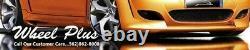 Set(4) 20x8.5/10 5x114.3 MATTE BLACK WHEELS MUSTANG IS250 GS300 GS350 RSX TSX