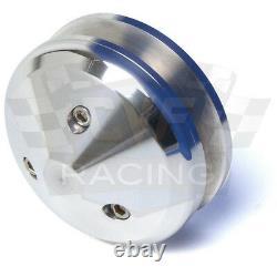 Small Block Ford Pulleys 289 302 351W Underdrive V-belt Kit 1V SBF