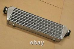 Universal 27'' x 7'' x2.5'' FMIC Aluminum Front Mount Intercooler Polished 2.5'