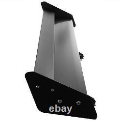 VEVOR 52IN Gt Rear Trunk Double Deck Racing Spoiler Double Deck Aluminum Wing