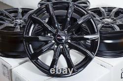 16 Wheels Rims Black Fits Honda Accord CIVIC Prelude Kia Soul Scion Tc Xb IM XD