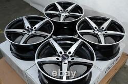 17 Black Wheels Rims Fit Honda Accord CIVIC Prelude Elantra Sonata Kia Soul (4)