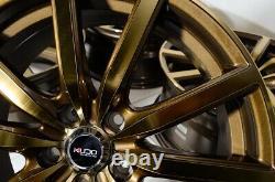 18 Jantes Bronze Wheels Fit Hyundai Sonata Infiniti Q45 Lexus Is250 Nissan Altima