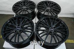 18 Roues Fit Lexus Es300 Gs300 Is250 Is300 Is350 Altima Maxima Black Rims (4)