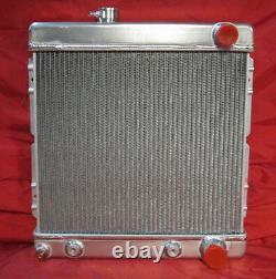1964 1965 1966 Ford Mustang Falcon Comet Aluminium Radiator Garantie À Vie